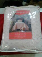 NEW Diamond Dobby Comforter Set (XL Twin) - Opalhouse Blush Pink #171