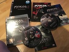 NINJA Gaiden Sigma 2 COLLECTOR'S EDITION-SONY PLAYSTATION 3-PS3