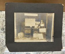 Vintage Early 1900's Photo Of A Store Window Display @ Joplin, Mo. Stove Co.