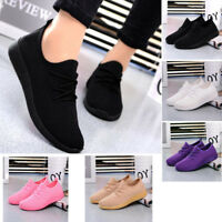 Womens Mesh Loafer Outdoor Trainers Fitness Sports Running Casual Shoes Sneakers