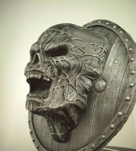 Phantom Iron WallMount  Art Home Decor Ornament Horror Grim Gotic Skull