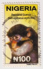2001 Nigeria - Red Eared Guenon, Wildlife - 100N Stamp