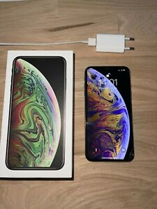 Apple iPhone XS Max - 64 Go - Gris Sidéral (Désimlocké) - Ecran Cassé