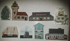 The Cats Meow Village. Lot of 8