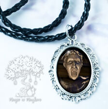 Weeping Angel Necklace - Handmade Jewelry - Dr. Who - Time Lord