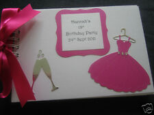 18th/21st/30th/40th/50th HEN/BIRTHDAY PARTY GUEST/Photo BOOK 30pg A5 Personalise