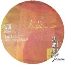 Puer Pu er Tea Pu-erh tea*2011*Menghai Dayi (taetea)*Love with DaYi*357g