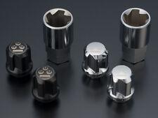 RS-WATANABE Lock nuts 8spoke silver/black 12x1.5 AE86 CIVIC