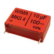 WIMA metallisierter poliestere canalizzatore mks4 100v 10uf 27,5mm 089849