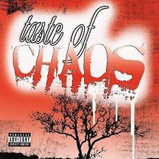 Taste of Chaos CD the used UNEARTH underoath SENSES FAIL atreyu NICKY P