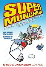 Super Munchkin Card Game From Steve Jackson Games Art By John Kovalic