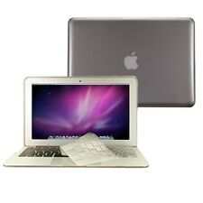 "2 in 1 Crystal GREY Hard Case for Macbook AIR 11"" A1370 with TPU Keyboard Cover"