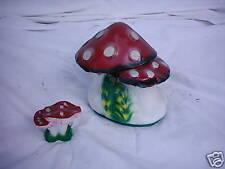 """Set 2 Pcs Figure Mushroom """" 2-teilige """" Animal Pond Garden höhe30cm"""