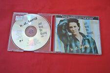 KD Lang Just Keep Me Moving 6 Trk Import Germany Maxi Single 1993 CD