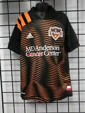 2020-21 adidas HOUSTON DYNAMO YOUTH AWAY JERSEY (EH8642) SIZE YOUTH SMALL