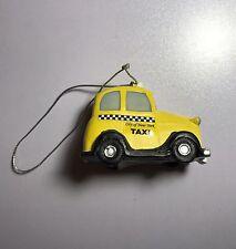 "NYC Taxi Cab 2.5"" Souvenir Solid Ornament New York Top Of Rock Rare New !!!"