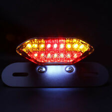 LED Turn Signal Brake License Plate Integrated Tail Light Motorcycle Fit Harley