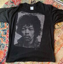 JIMI HENDRIX pixelated classic rock 90s vintage T shirt  Winterland brand