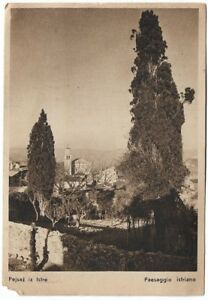 1945 Original Vintage Postcard Istria Rijeka Zemun Yugoslavia