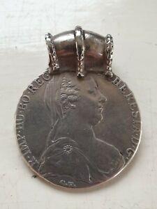 Old Maria Theresa Thaler BURG CO TYR 1780 X Archid Avst Dux Silver Coin