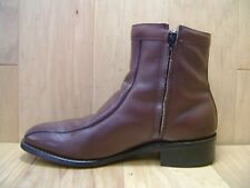 b47b9806be30 Men s Dress Boots STAFFORD COMFORT PLUS Sz 8.5 D Brown Leather MADE IN ...