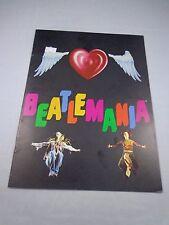 * Beatlemania-Broadway production Program book-vintage - excellent