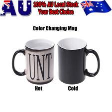 Magic mug, Colour changing mug, CUNT-MUG, Funny Mugs Novelty mug, birthday Gift