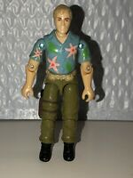 GI Joe Chuckles 1987 Hasbro ARAH Action Figure Nice Condition Vtg Retro 1980s