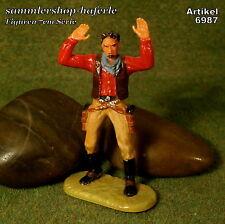 Original Hausser Elastolin 7cm COWBOY/BANDIT naturgetreu & handbemalt N°6987