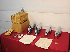 57 CHEVROLET BELAIR NOS GM VT VERMONT BUMPER GAURDS......SUPER RARE!!!