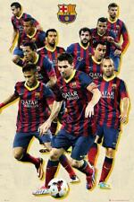 Barcelona Players Vintage 2013 -2014 - Maxi Poster 61cm x 91.5cm new and sealed