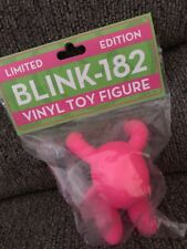 blink 182 limited edition hot pink vinyl toy figure bunny 473/500