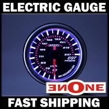 52mm Mookeeh MK1 Black LED Light 2400 F Pyrometer EGT Gauge Meter