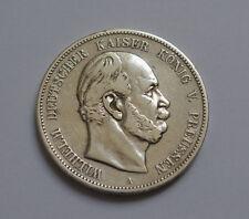 5 Mark 1874 Wilhelm Kaiser Deutsches Reich Silber Silver Coin