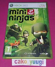 MINI NINJAS XBOX 360 TRES BON ETAT GENERAL VERSION 100% FRANCAISE
