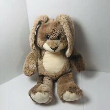 BUILD A BEAR Tan Brown Bunny Rabbit Plush Stuffed Animal Toy Easter Plushie