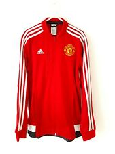 Manchester United Jacket Coat. Small Adults. Adidas. Red Man Utd Track Top S.