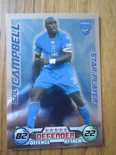 Match Attax 2008/09 Star Player card - Sol Campbell of Portsmouth