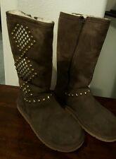 UGG Australia Women's Avondale Taupe Boots 3330 w/Sheepskin Lining  Size 7- New