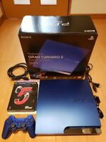 PlayStation3 PS3 GRAN TURISMO 5 RACING PACK first limited edition Blue Japan