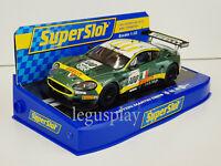Slot Car Scalextric Superslot H2959 Aston Martin DBR9 Scuderia Italia #100