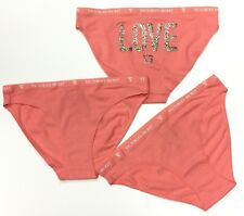 Victoria Secrets High-Leg Bikini Panty Pink 3 Pack Size M in New Shell Pink