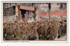 AK Belgien, Militär, Au Feu De La Rampe, 1915