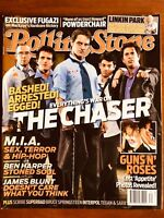 ROLLING STONE AUST OCT 2007 Linkin Park, Fugazi, Bruce Springsteen, Guns n Roses