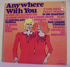 """33T The MUSIC SWEEPERS Disque LP 12"""" ANYWHERE WITH YOU BELINDA LES TRETEAUX 6092"""