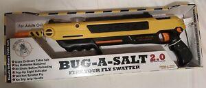 BUG-A-SALT 2.0 Yellow Fly Salt Gun New