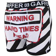 Mens Boxers Shorts Underwear Cotton Designer Rude Novelty Funny Gift Boys Trunks