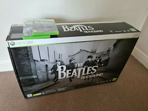The Beatles: Rock Band Limited Edition (Xbox 360) fully complete + Rock Band 2