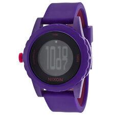 """NWT Nixon Unisex A326200 Purple """"Genie"""" Watch"""