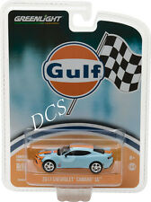 GREENLIGHT 2017 Chevy Camaro Gulf Oil 1/64 DIECAST CAR 29908